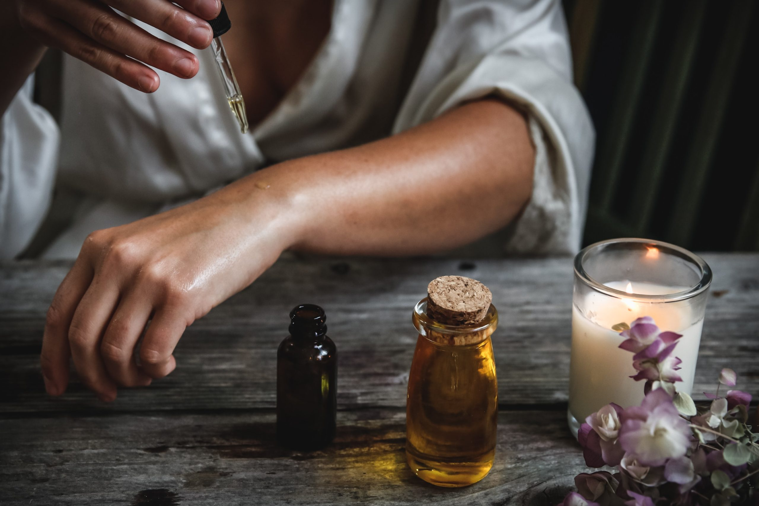 Using Only Essential Oils